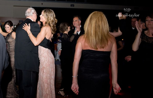 Jim and Juli Boeheim being  cute dancing at their 2014 Gala