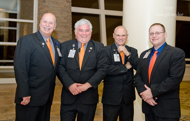 Part of the Turning stone Security staff  from the Jim and Juli Boeheim Gala