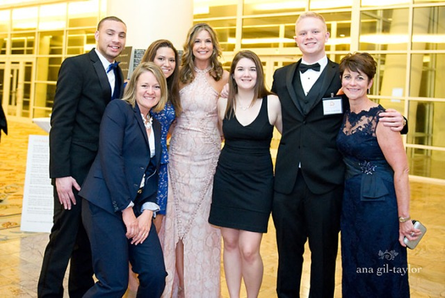 Part of the Jim and Juli Boeheim Foundation volunteers and staff.